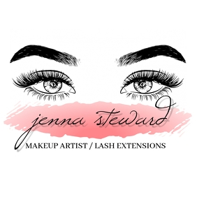 MAKEUP ARTIST LASHES LOGO DESIGN TEMPLATE