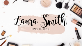 Makeup Blog cover Header Template