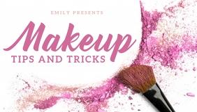 makeup En-tête de blog template