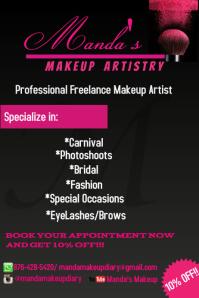 MakeUp Flyer