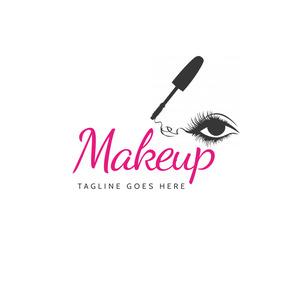 makeup logo design template