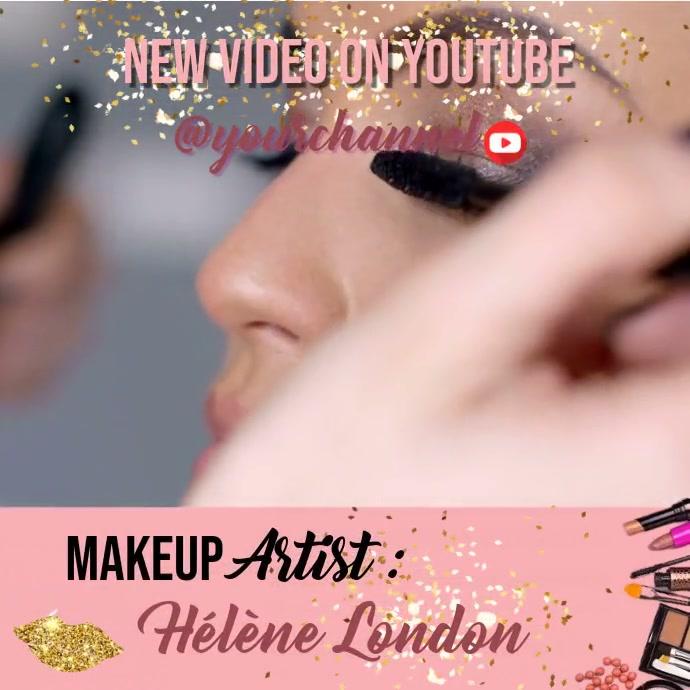 Makeup Tutoriel Pos Instagram template