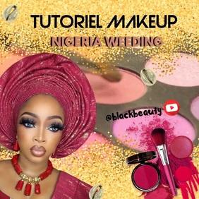Makeup Tutoriel Quadrato (1:1) template