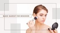 Makeup YouTube Thumbnail template