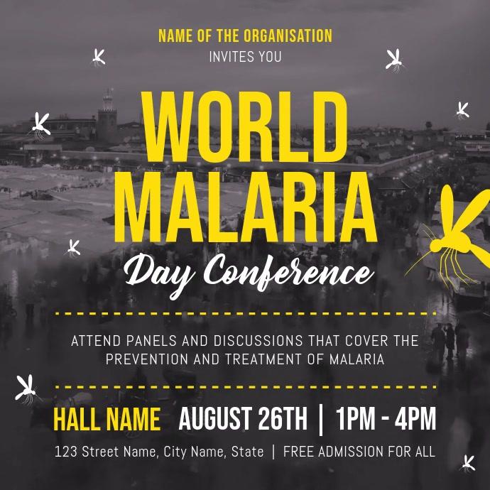 Malaria Awareness Campaign Square Video