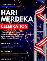 malaysia, malaysia independence day Flyer (US Letter) template