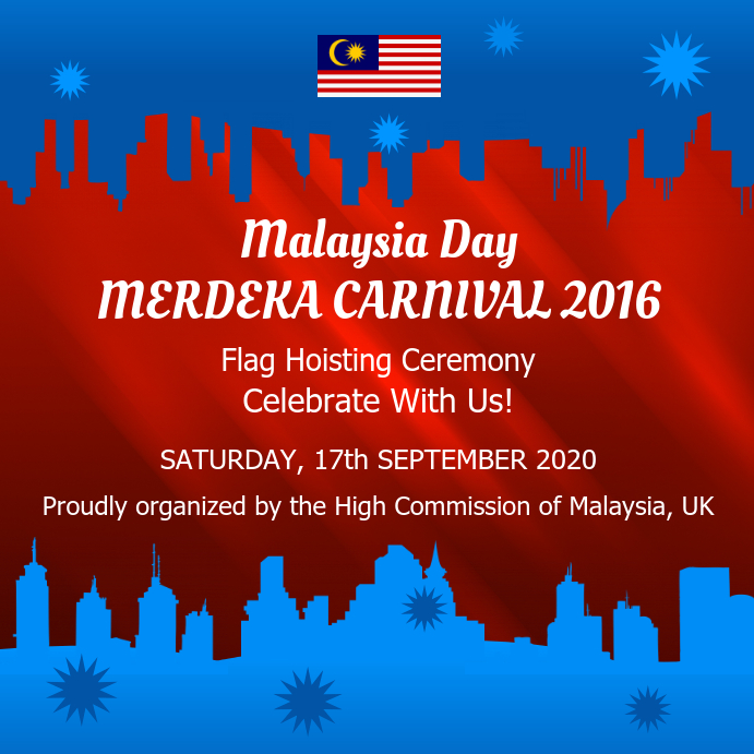 Malaysia Day Carnival Instagram Image