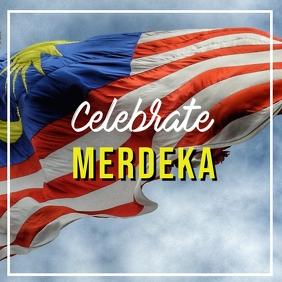 Malaysia Day Square (1:1) template