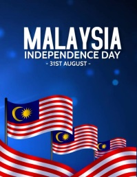 Malaysia day Flyer (US Letter) template