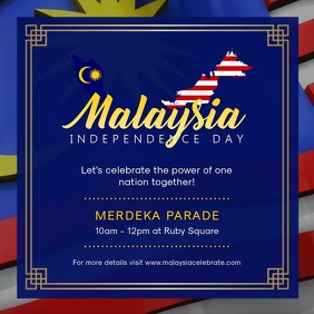 Malaysia Day Event Parade Invitation