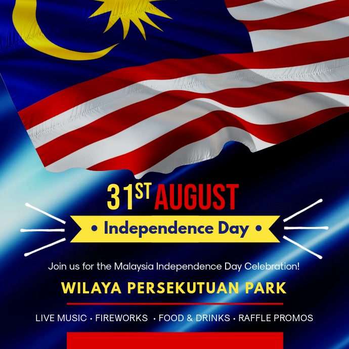 Malaysia Day Party Invitation Video