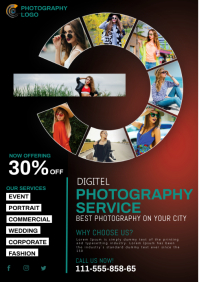 PHOTOGRAPHY A4 template