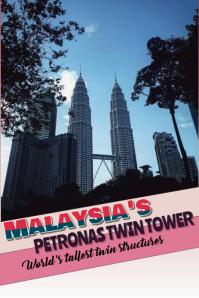 Malaysia Pinterest-afbeelding template