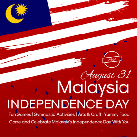 Malaysia Independence Day Instagram Image