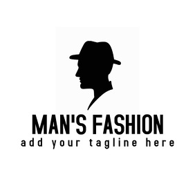 man's fashion logo
