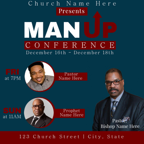 Man Up Conference Promo