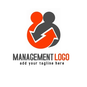 Management business logo template