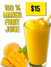 Mango Fruit Juice Video Flyer Template