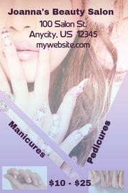 Manicure and Pedicure Sale Event Flyer