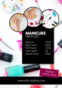 Manicure Nails Studio Price List Costs beauty