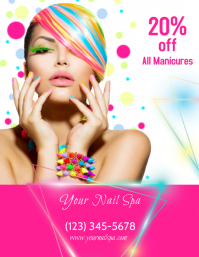 Manicure Sale Flyer