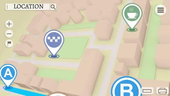 map location road Isithonjana se-YouTube template