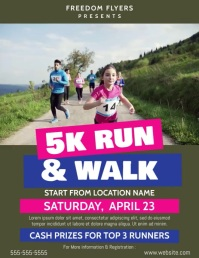 Marathon Flyer Video Template