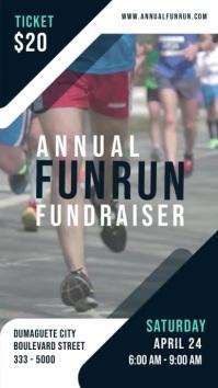 marathon poster, non profit videos, fundraiser banner, volun