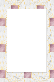 Marble Party Prop Frame