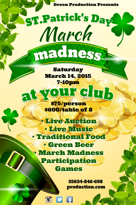 March Madnes Poster