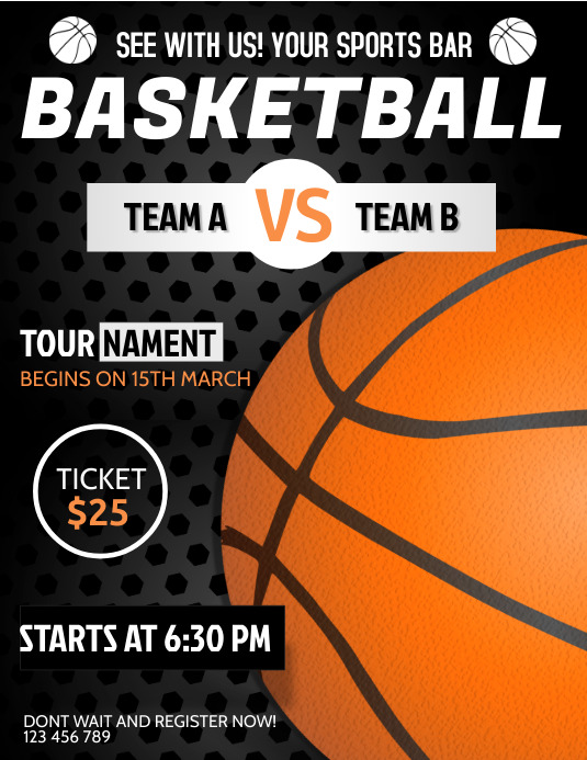 March Madness, Basketball Posters. Tournaments, Games