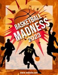 march madness, event, basketball Volante (Carta US) template