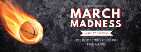March Madness Bar Event Facebook Cover Image Template