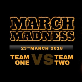 March Madness Basketball Event Mach Instagram video template