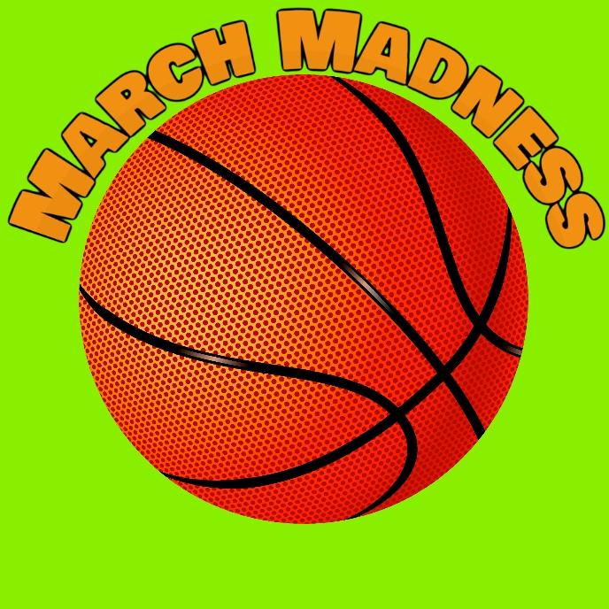 march madness Sampul Album template