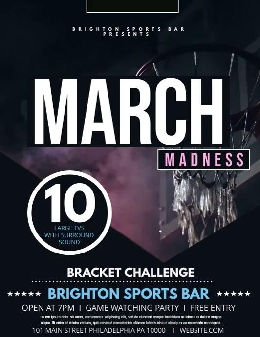 March Madness Volante (Carta US) template