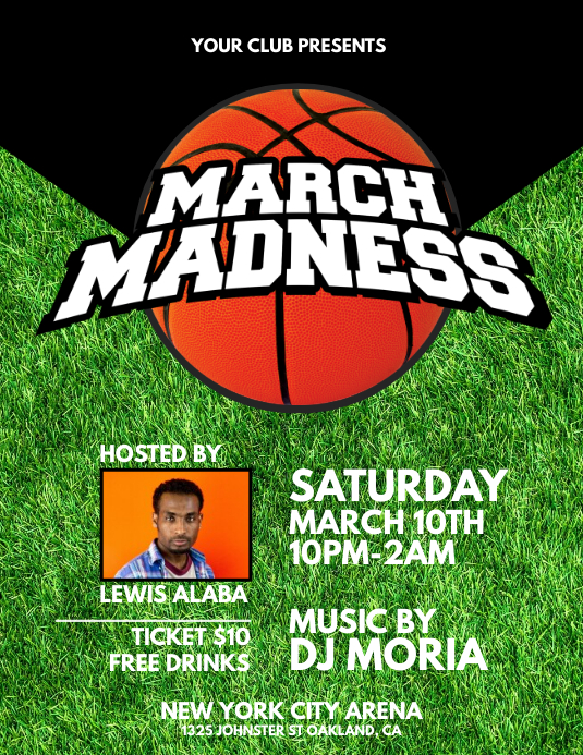 ncaa march madness 2015 flyer poster by daniel e graves dribbble