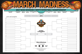 March Madness NCAA Basketball Championship 2017 schedule