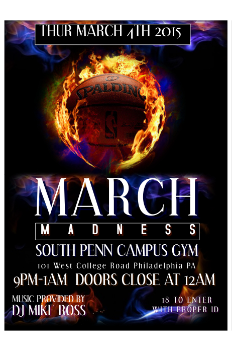 March Madness Poster Templates | PosterMyWall