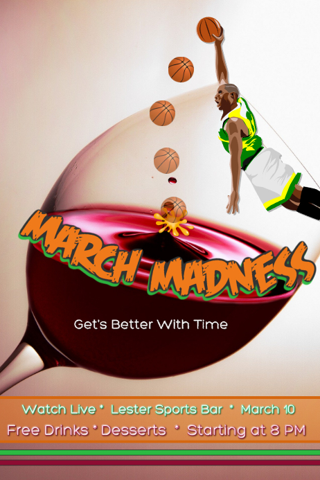 March Madness/ Sports Bar/Sports/ Basketball