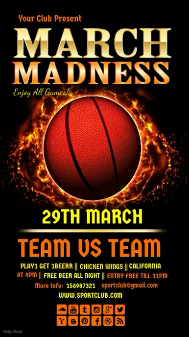 March madness video 1