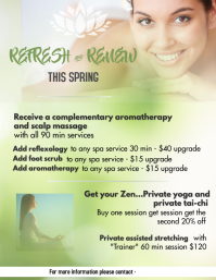 March Massage Promo