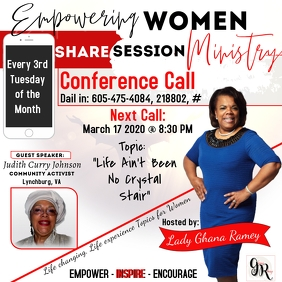 March Women's Monthly Call