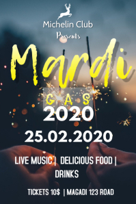 MARDI GAS 2020 FLYER