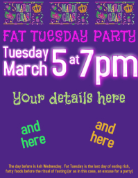 Mardi Gras, Fat Tuesday, Party, Dinner, Costumes
