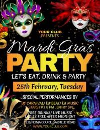 Mardi gras, masquerade, carnival