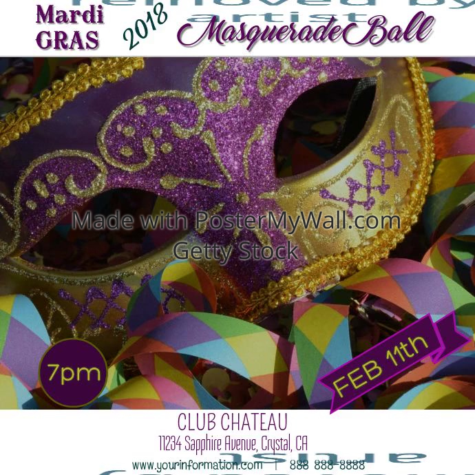 Mardi Gras/ Masquerade Ball Video