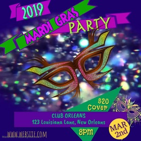 Mardi Gras 2019 Video