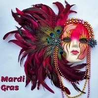 mardi gras 专辑封面 template
