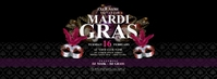 Mardi Gras Facebook Cover Photo Facebook-coverfoto template